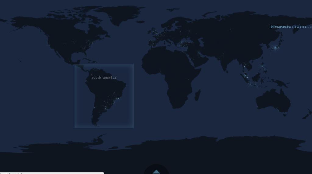 世界のtweetが光るサービス